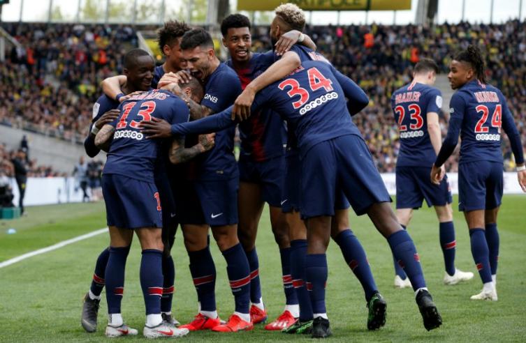 PSG aseguró el título de la Liga Francesa