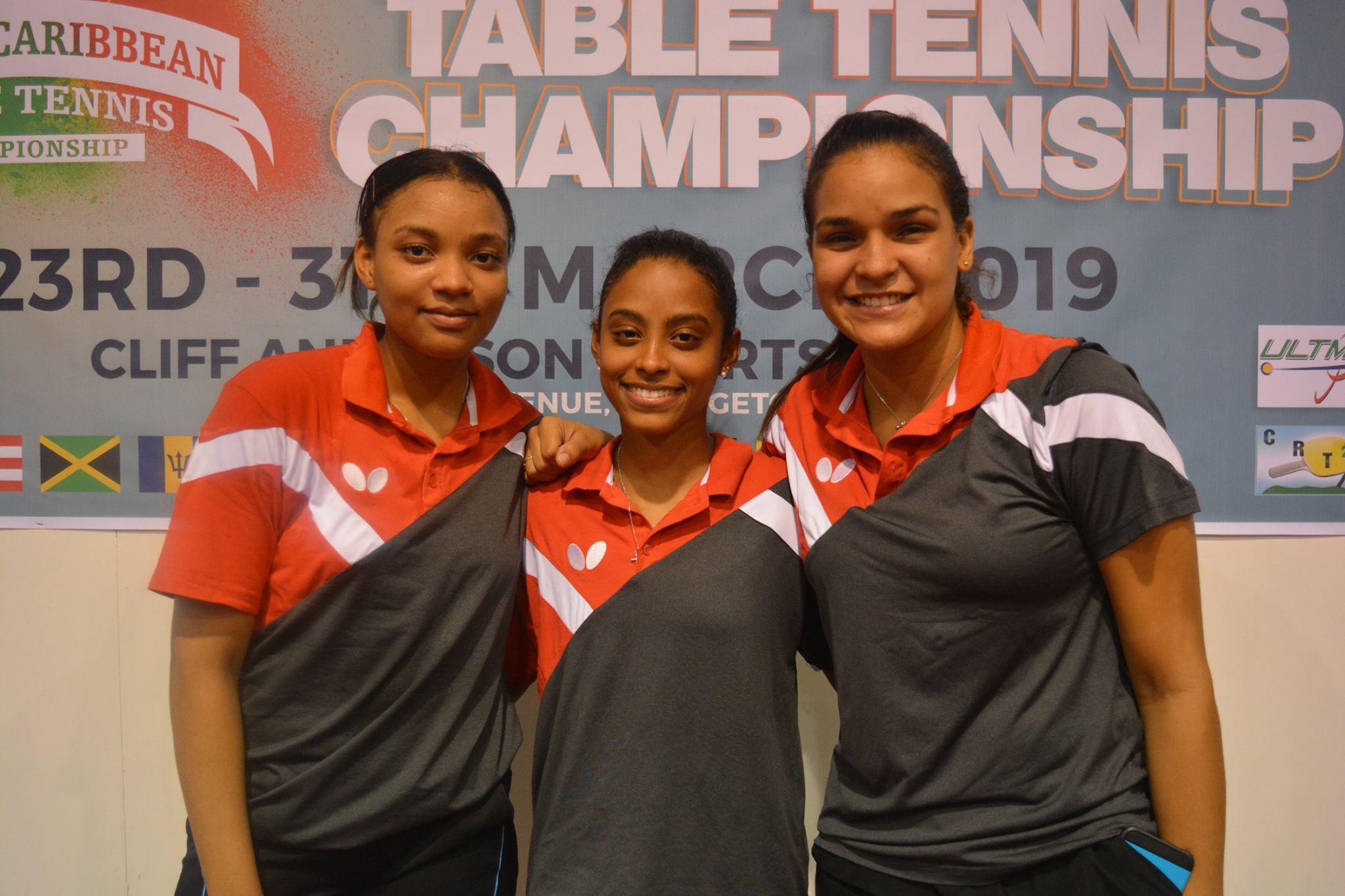 Equipos Tenis Mesa clasifican a Panamericanos; ganan seis oros en Guyana