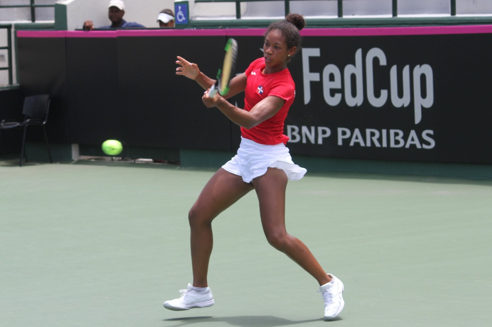 República Dominicana cae en inicio de la Fed Cup