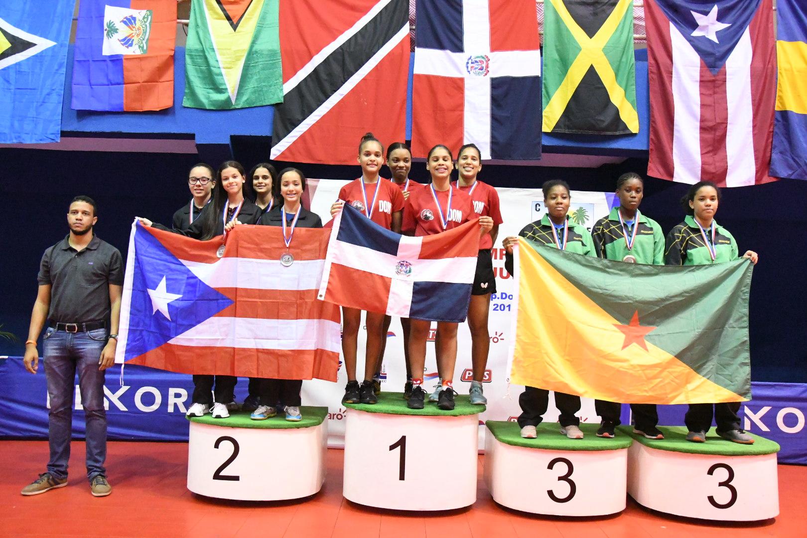 Esmerlyn Castro, la reina del tenis de mesa del Caribe