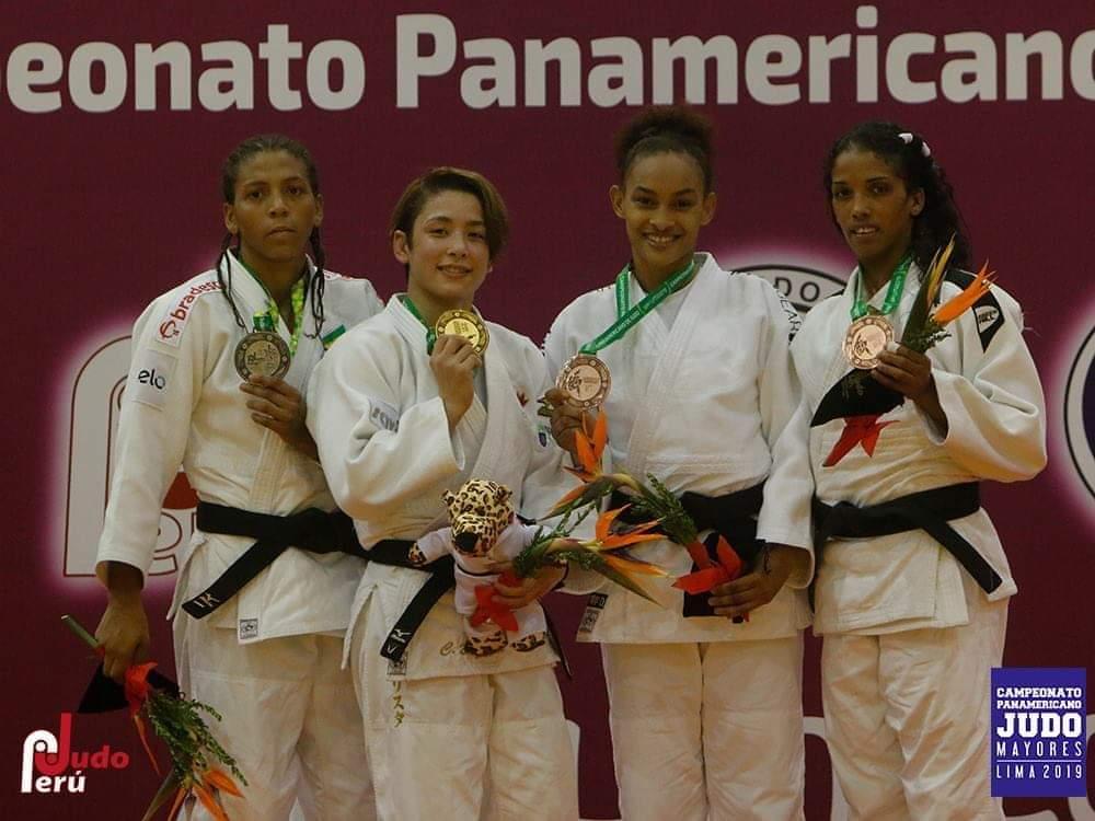 Ana Rosa, bronce en Copa Panam Abierta Judo en Lima, Perú