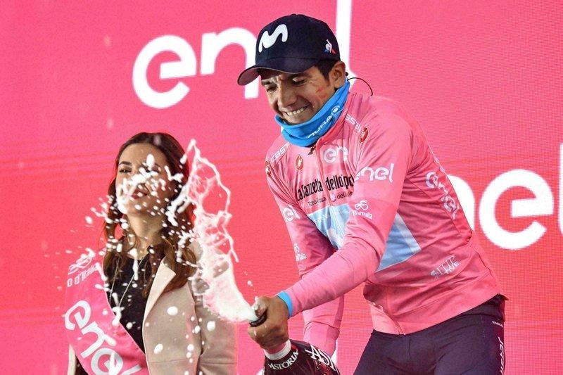 Ciccone gana la decimosexta etapa del Giro y Carapaz se mantiene líder