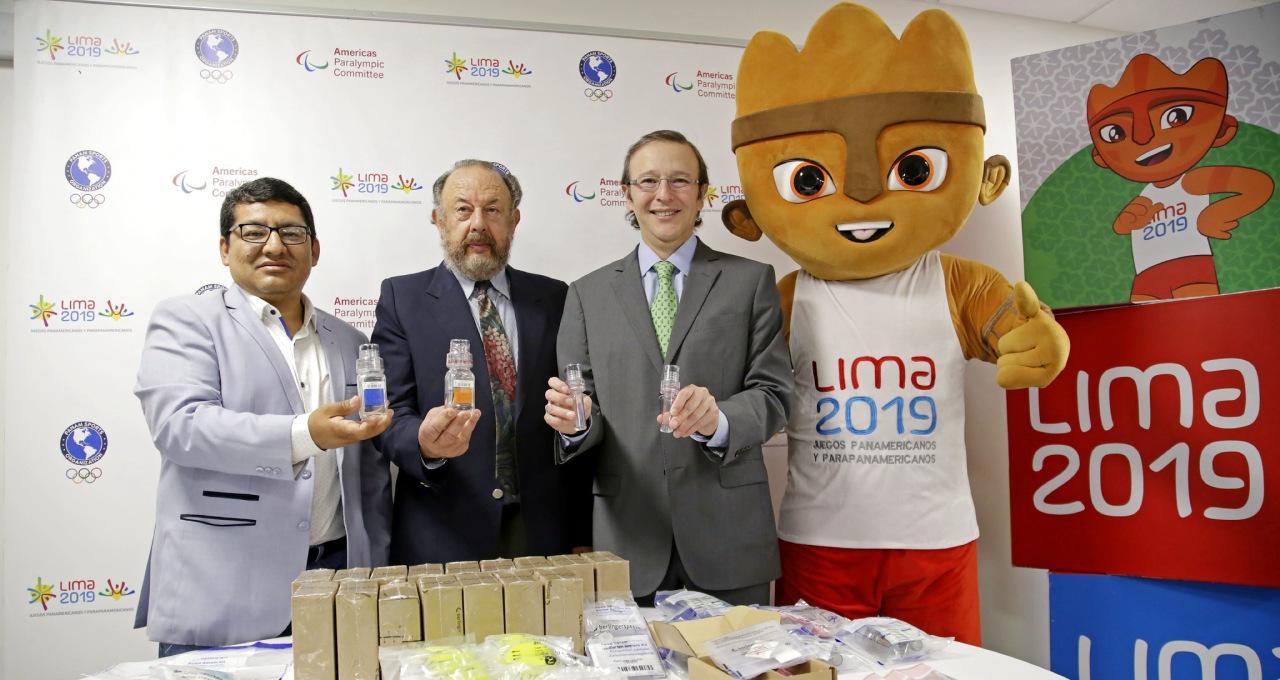 Lima presentó kits antidopaje para Panamericanos y Parapanamericanos