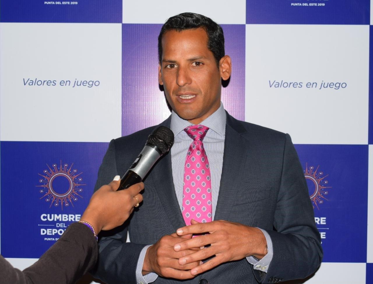 Marcos Díaz dirige trabajos Antidopaje en África