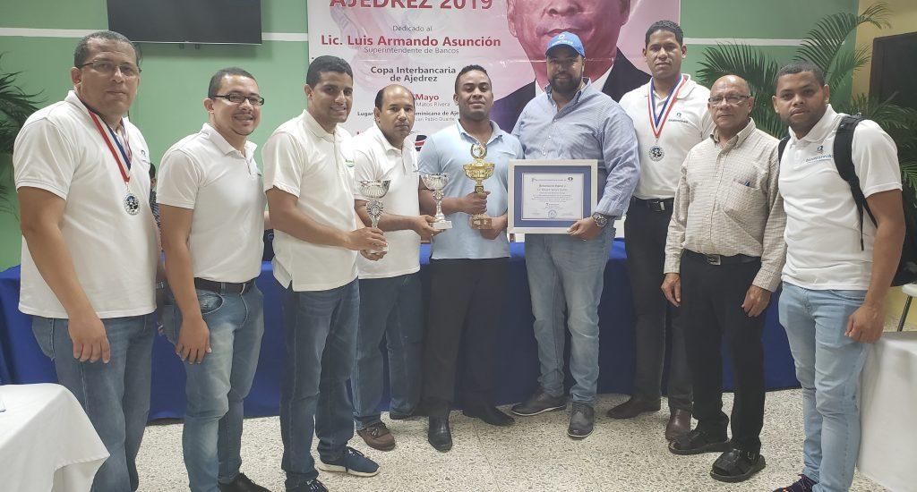 Equipo Banco de Reservas gana Copa Interbancaria de Ajedrez 2019