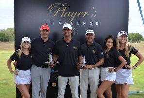 Cross y Frías ganan el torneo de golf Player's Challenge