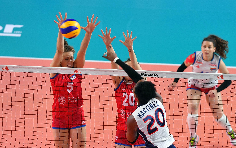 Serbia inflige tercer revés seguido a RD en Liga de Naciones