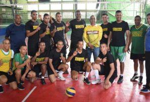 Ejército barre Fuerza Aérea en torneo masculino de voleibol