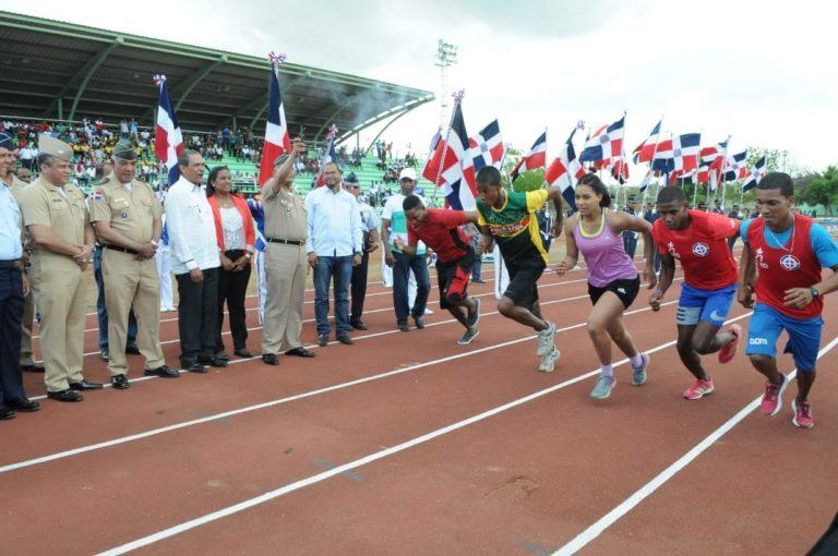 Ejército domina en atletismo de los Juegos Militares