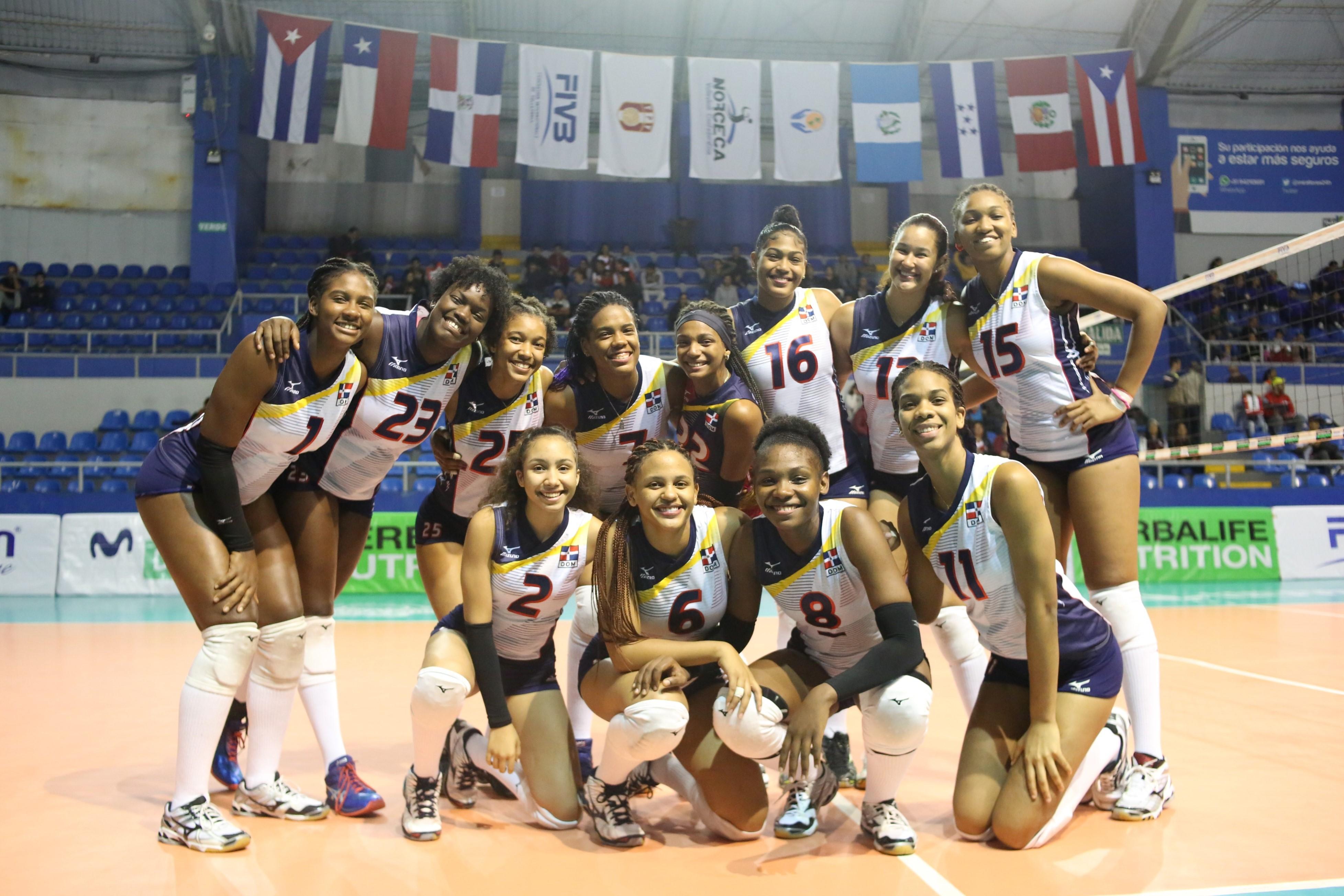 RD vence a Puerto Rico y avanza a semifinal Copa Panam de Voleibol Sub-20