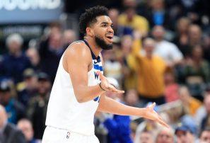 Towns deja de ganar 32 millones de dólares al quedar fuera Mejores Quintentos NBA
