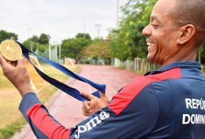 Robert Jiménez, el invidente que ganó el primer oro de RD en Juegos Olímpicos