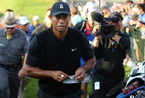 El mismo público, marcador diferente para Tiger Woods