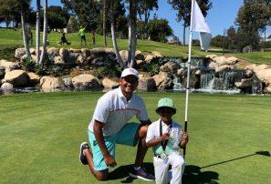 Alejandro Balbuena se destaca en torneo de golf IMG Junior World Champions