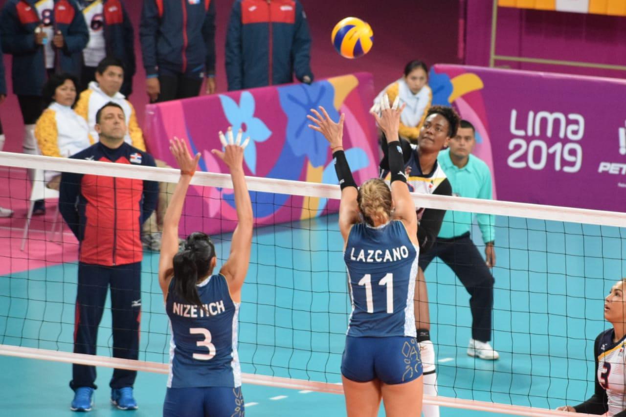 RD vence a Argentina en voleibol femenino de Panamericanos 2019