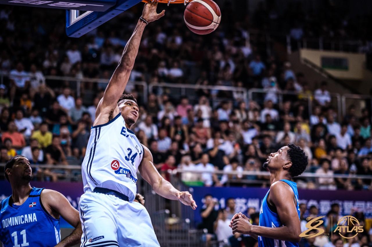 Grecia doblega a quinteto RD en preparación mundial baloncesto