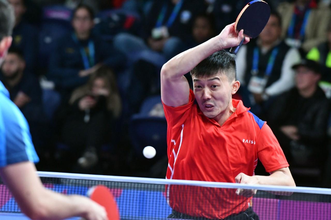 Jiaji Wu asegura medalla de bronce en sencillos tenis de mesa