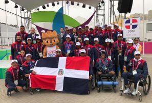 Delegación de RD recibe cálida acogida en ceremonia inaugural Juegos Parapanamericanos
