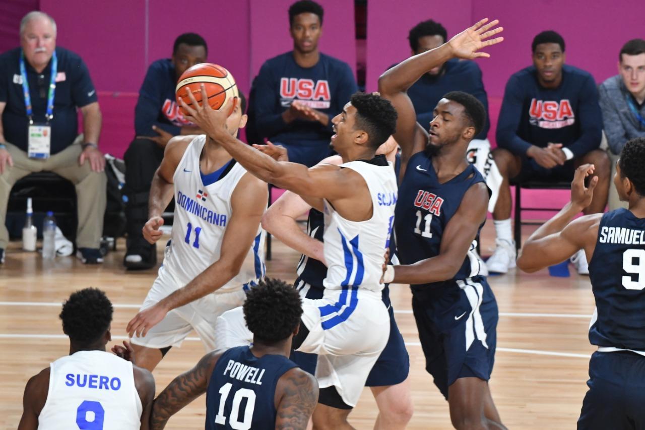 Equipo basket RD ocupa cuarto lugar; pierde ante  Estados Unidos