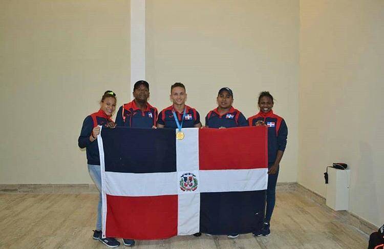 Retornó al país el tercer medallista de oro de RD en los Juegos Panamericanos