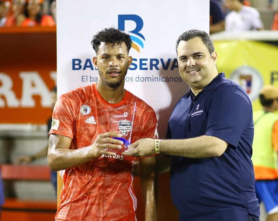 Adrian Salcedo fue elegido Jugador de la Semana del Cibao FC