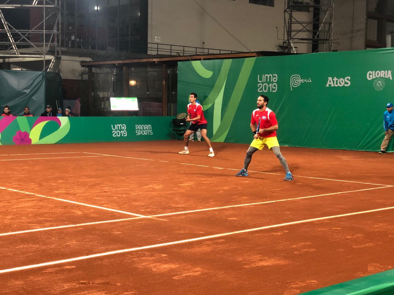 Víctor Estrella y Roberto Cid a tercera ronda dobles tenis Panam