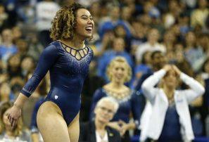 Katelyn Ohashi, la increíble gimnasta viral, logró otra rutina perfecta