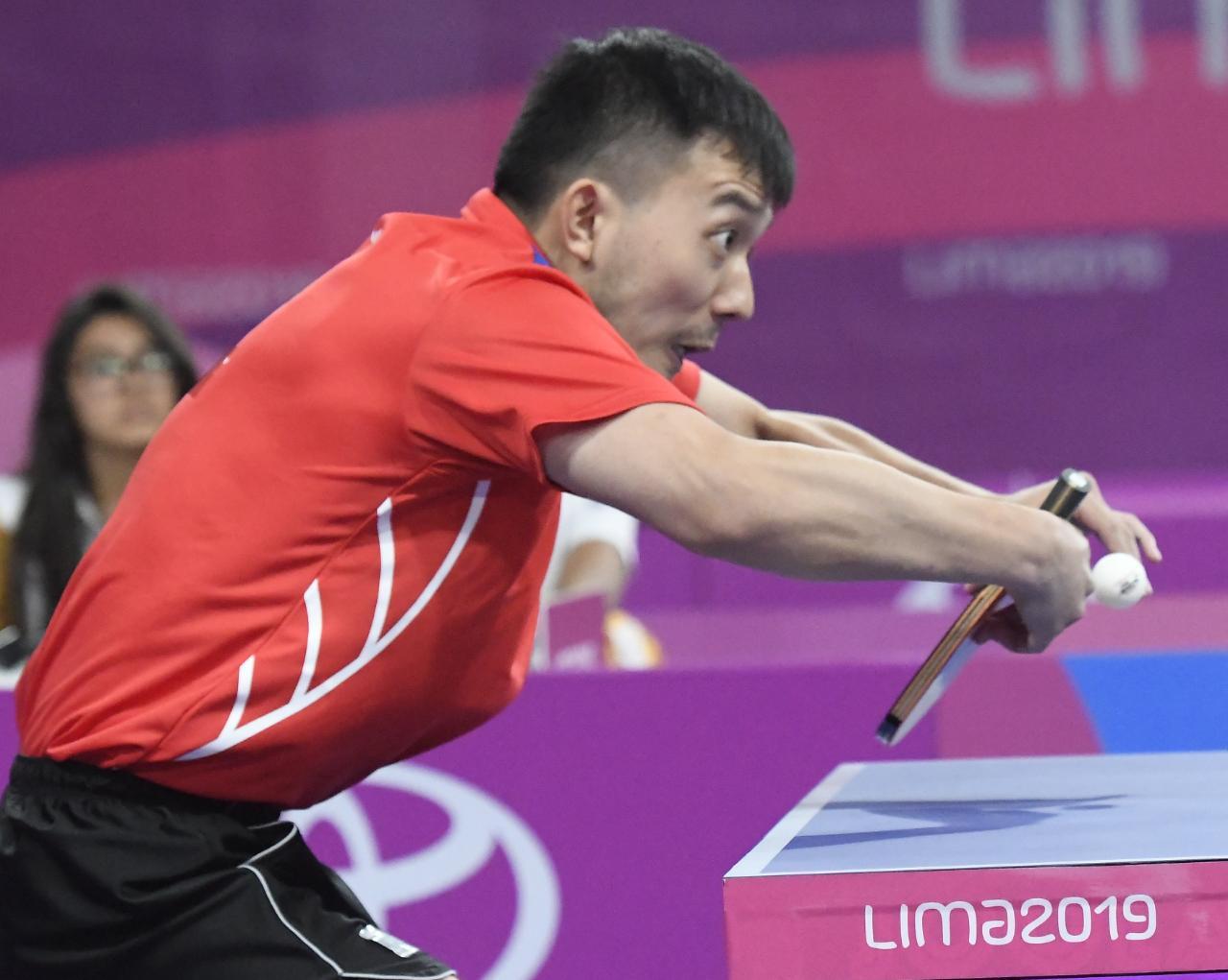 Jiaji Wu se queda con plata en sencillos tenis de mesa en Panam