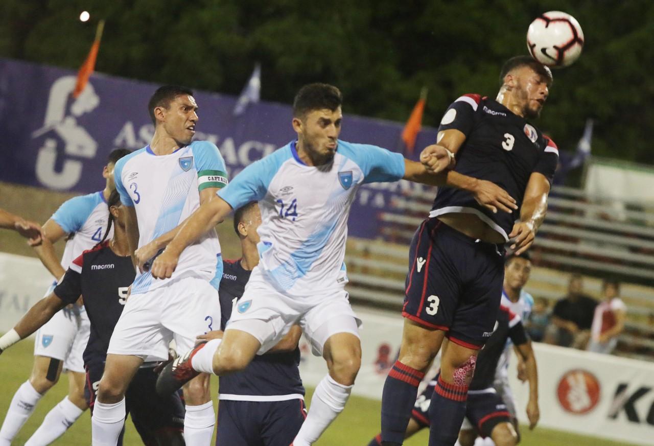 Oncenos de RD y Guatemala empatan en amistoso de Fútbol