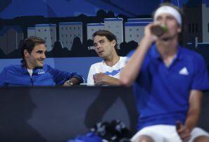 Nadal se retira por lesión del torneo y no jugará dobles con Federer