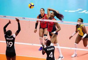 Selección voleibol RD vence 3-0 a Kenia en Copa del Mundo