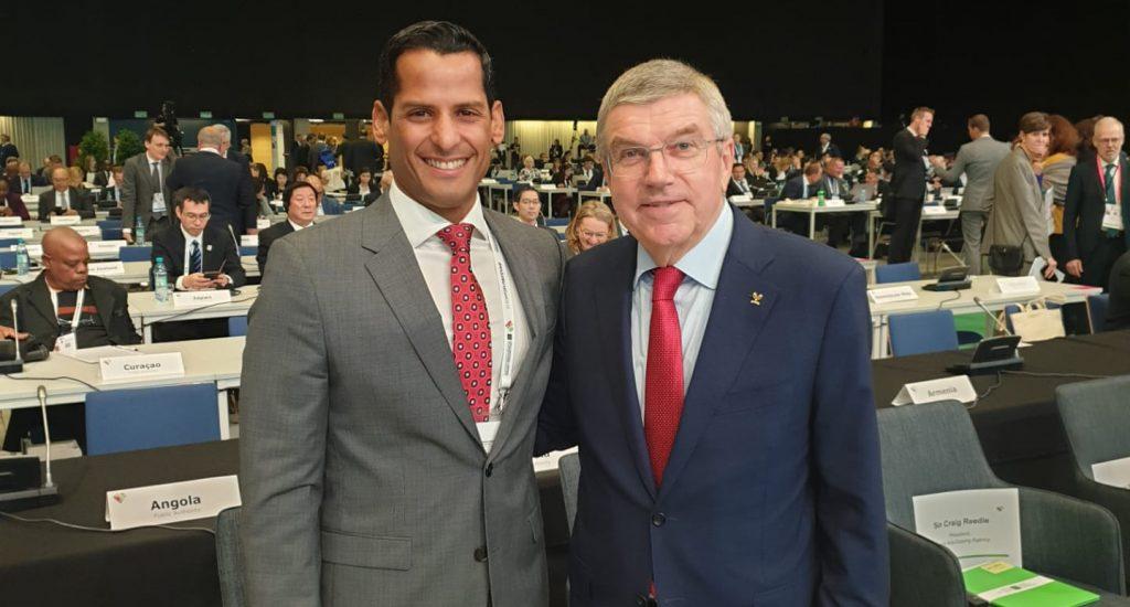 Presidente COI destaca elección Marcos Díaz en lucha contra dopaje Unesco