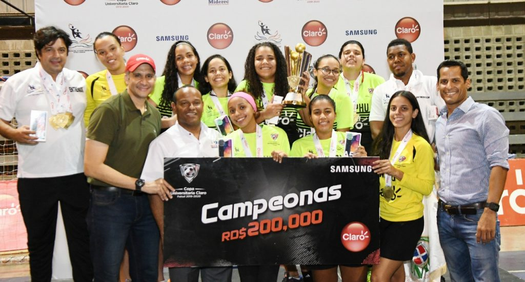 UNPHU y UNAPEC se coronan campeones de la Copa Universitaria de Futsal