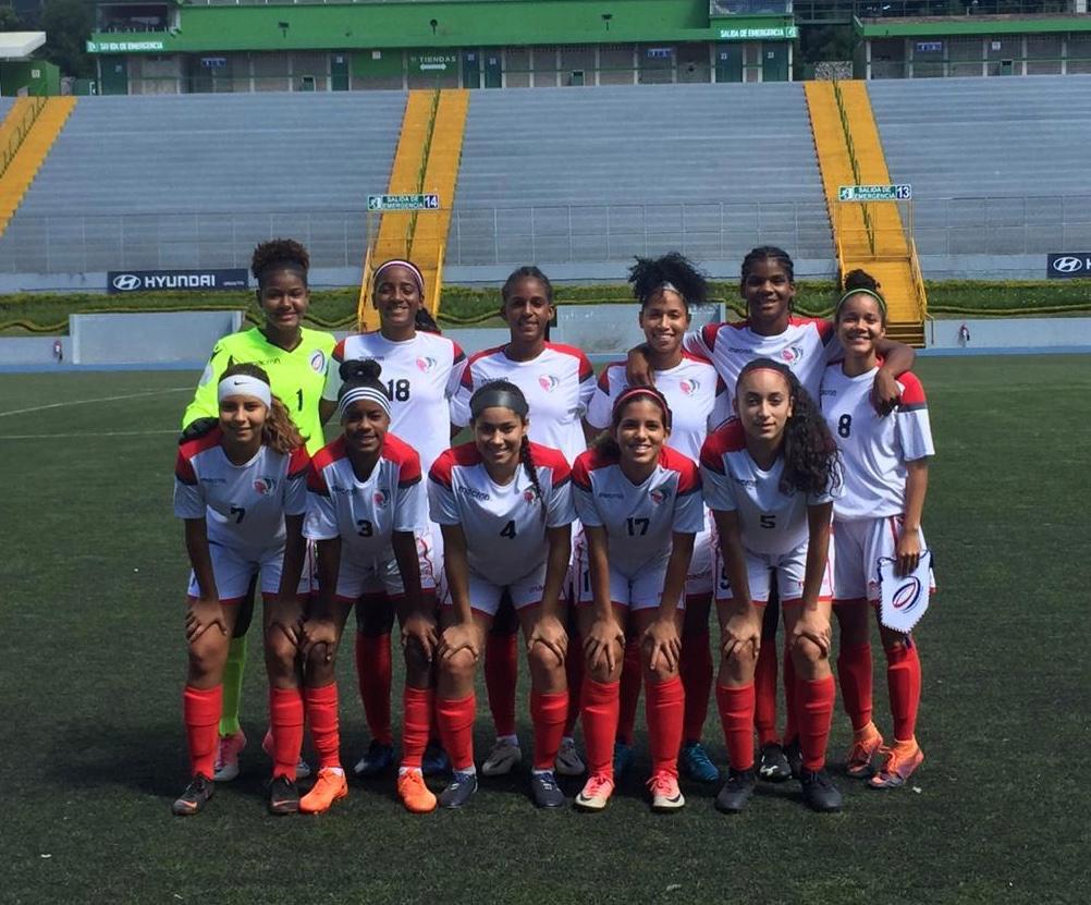 Selección fútbol RD derrotó a El Salvador en la Sub-20 femenino