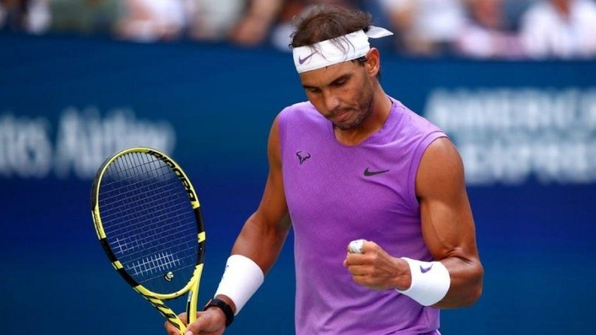 Rafael Nadal llega a Madrid para jugar la Copa Davis