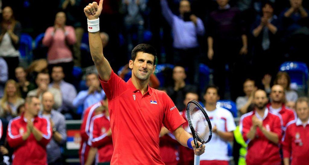 Equipos de Serbia y Rusia mantienen el pulso en la Copa Davis