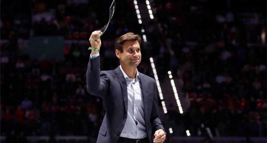 Español David Ferrer reconocido con Premio a la Excelencia de la Copa Davis