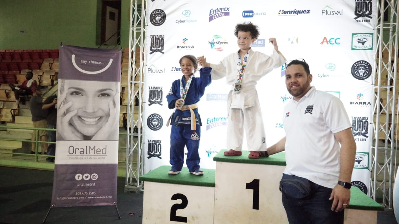 Club Tavarez Judo ocupa primer lugar absoluto torneo infantil