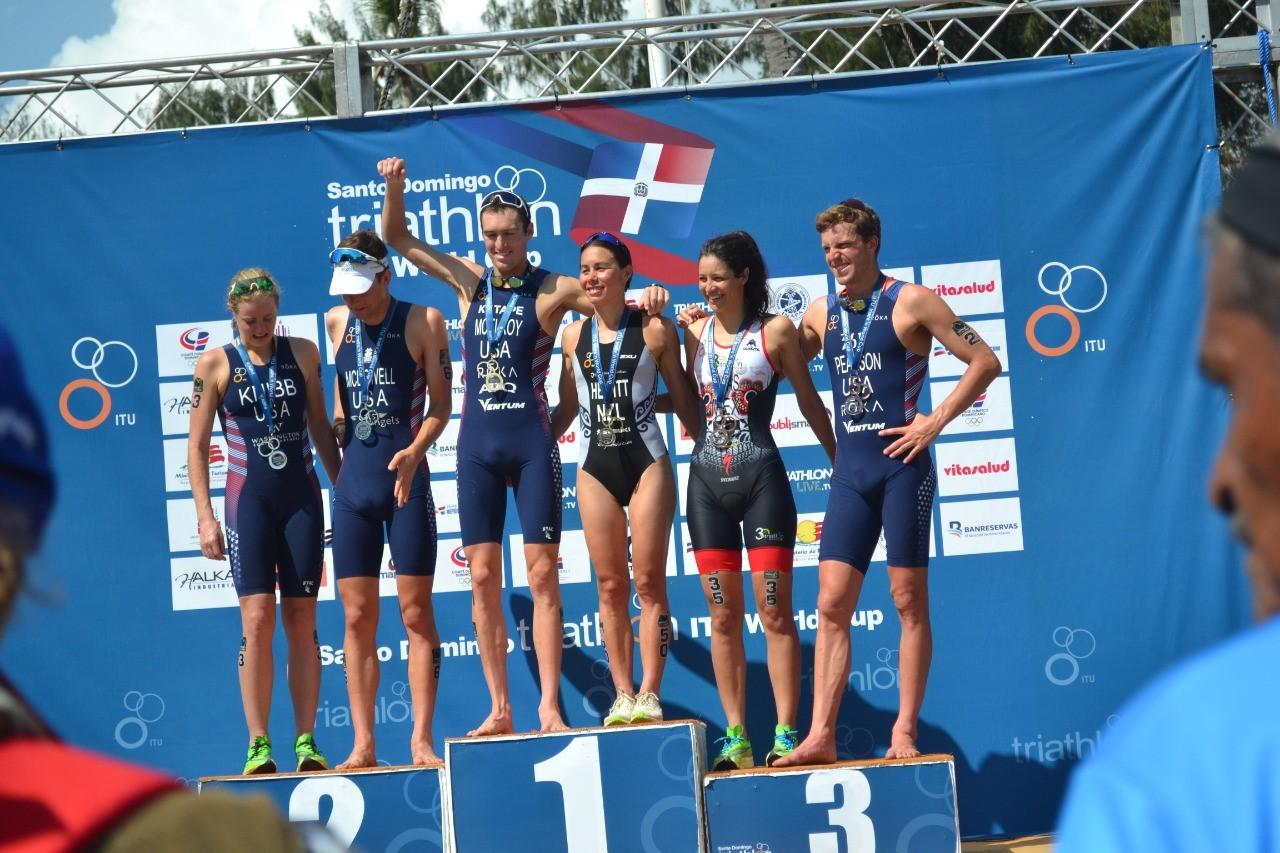 McElroy y Hewitt, más destacados Campeonato Mundial de Triatlón
