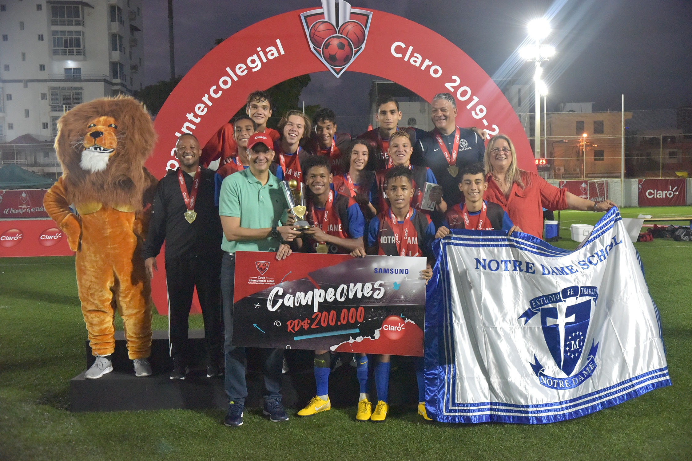 Notre Dame revalida su trono en la Copa Futsal masculino