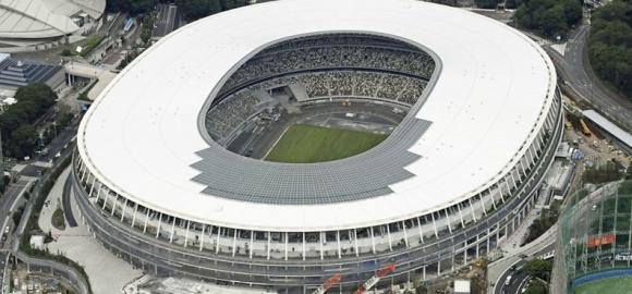 Concluye construcción estadio para Juegos Olímpicos Tokio 2020