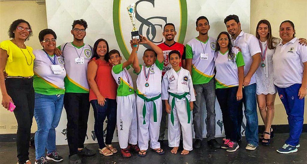Santiago Country Club gana taekwondo de su festival deportivo 88º aniversario
