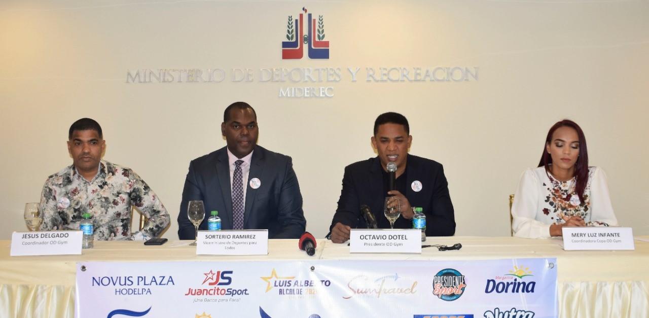 ODGYM celebrará IV Copa Internacional gimnasia artística