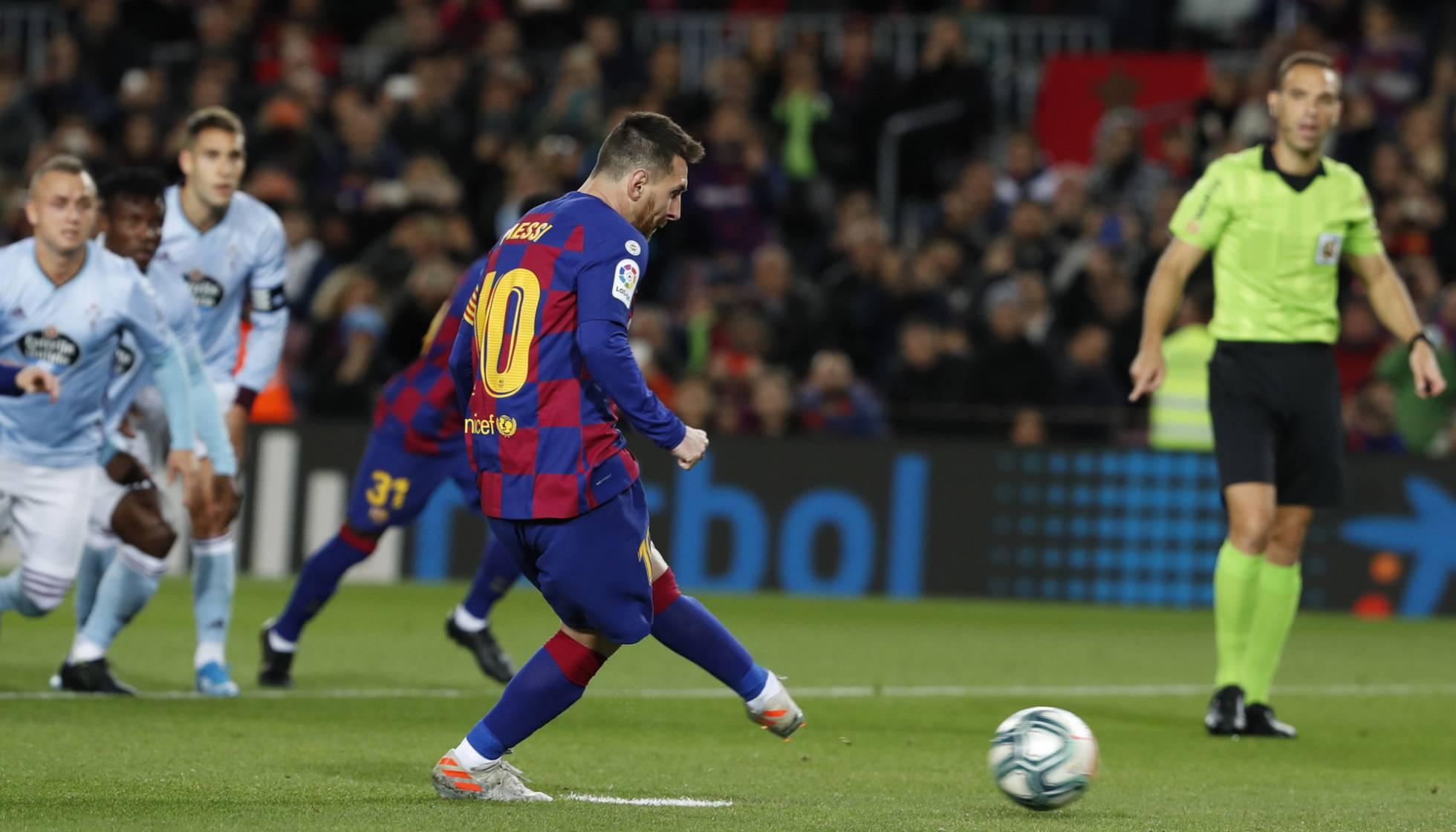 Messi marca triplete y Barcelona golea; Real Madrid triunfa