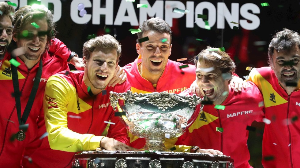 España gana la Copa Davis por sexta vez con un Nadal a toda máquina