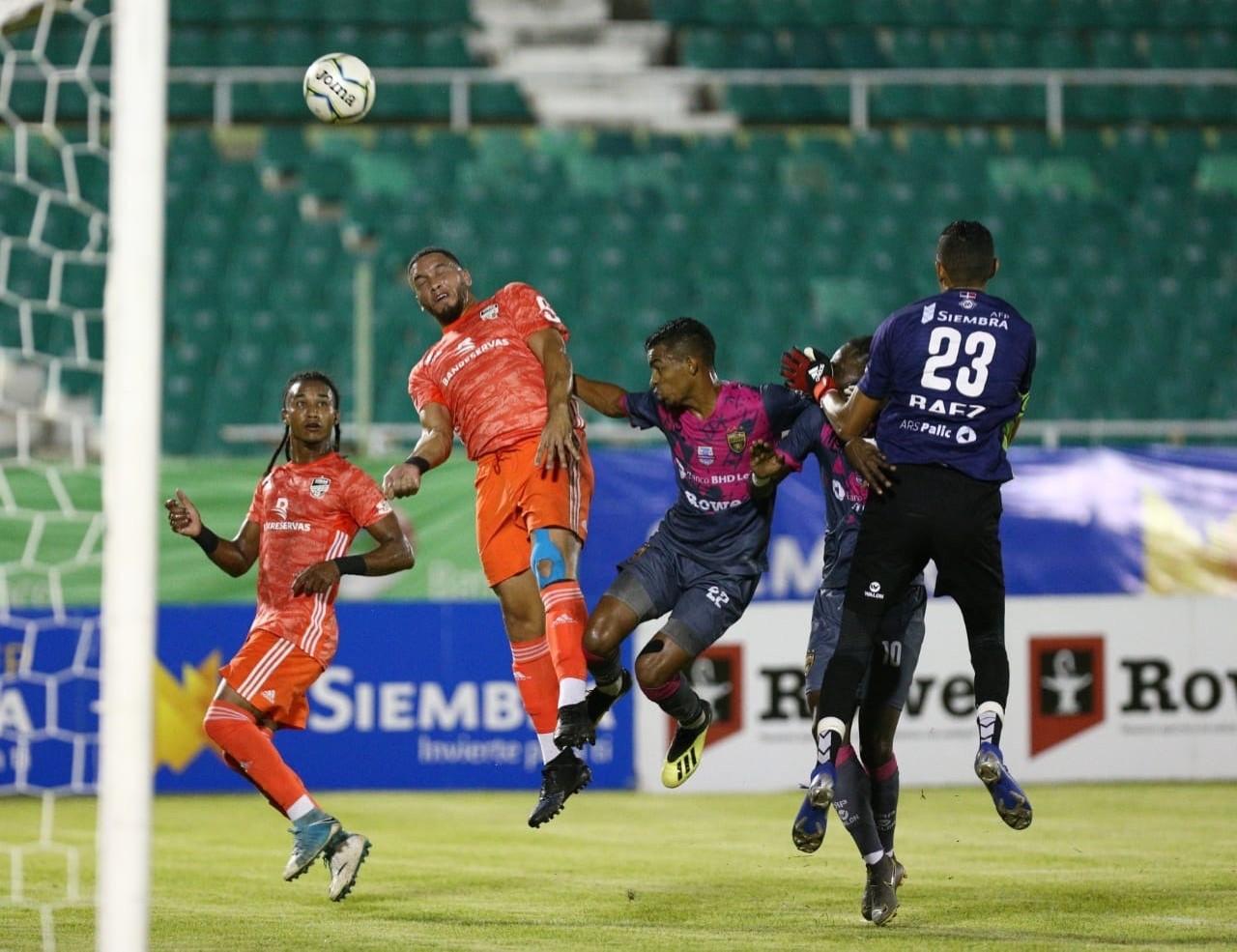 Cibao FC se anotó el triunfo en partido de ida Gran Final LDF