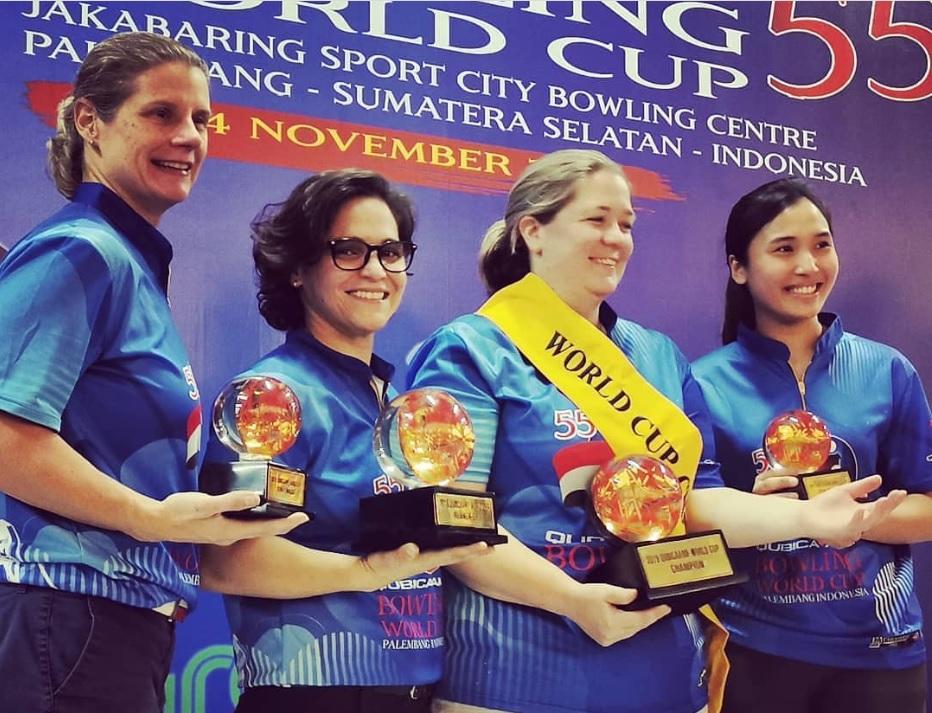 Aumi Guerra segundo lugar del Campeonato Mundial de Boliche