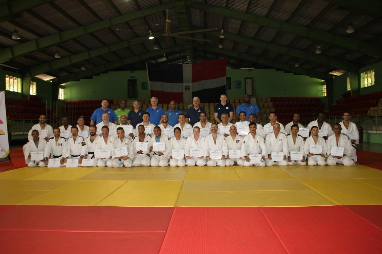 Federación Internacional de Judo califica instructores y entrenadores curso internacional Nivel II