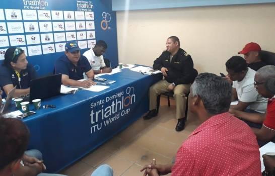 Campeonato Mundial de Triatlón será el domingo en la playa de Sans Soucí