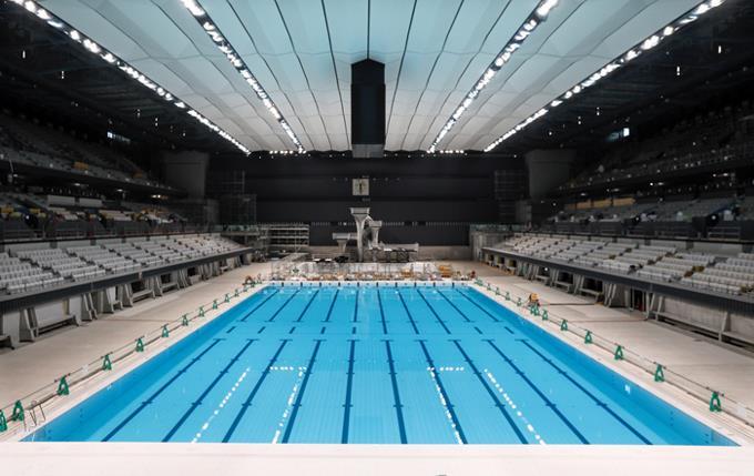 Comité Organizador Tokio 2020 presenta su Centro Acuático Olímpico